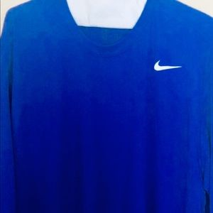 Nike Dri Fit Men's XL Long Sleeve Shirt